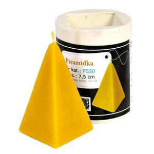 Lyson kaarsen gietvorm - Pyramide - hoogte 7.5 cm [FS50]