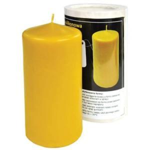 Lyson kaarsen gietvorm - Ronde kaars - Ø 80 - hoogte 13.5 cm [FS53]