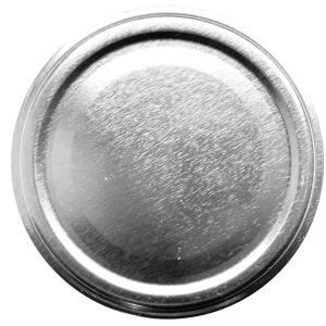 Deksel Zilver - toc-63 mm