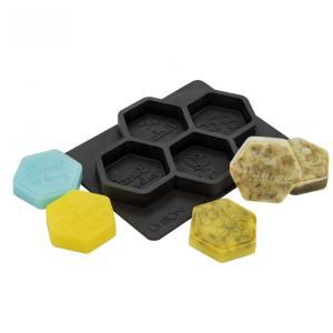 Lyson zeepmal - voor 4 zeepjes hexa groot [FM012]