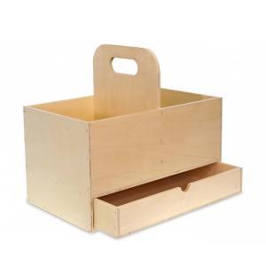 imker gereedschapskist hout – klein
