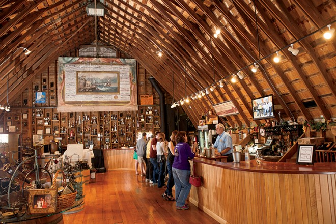 Eat Drink And Be Merry At Hubers Orchard