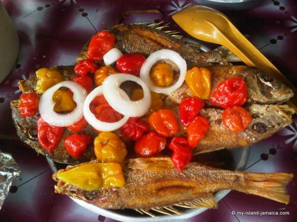 Authentic Jamaican Escoveitched Fish Recipe HomeStyle