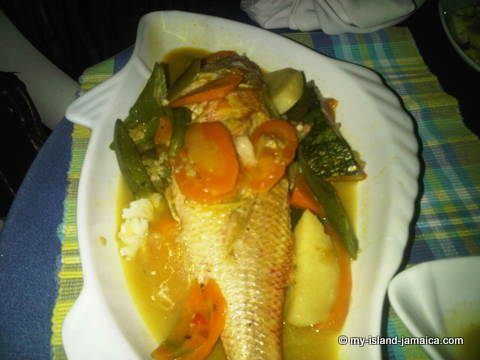 Jamaican Steamed Fish Recipe with Okra Deliciously