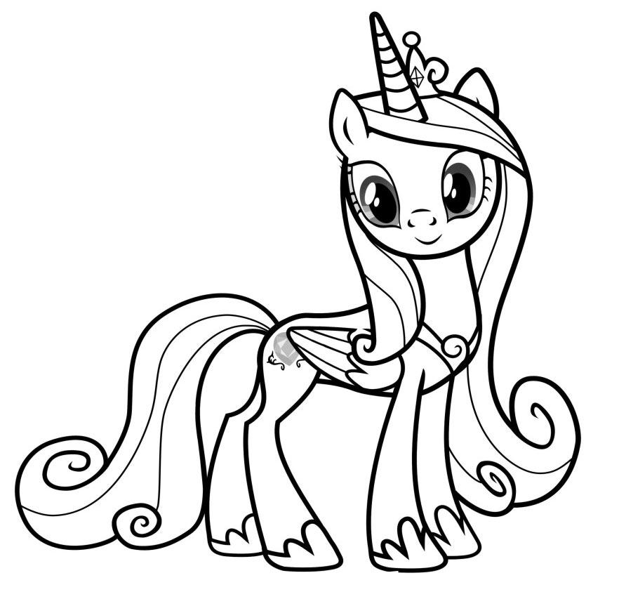 Pin Kolorowanki My Little Pony Dla Dzieci Do Wydruku