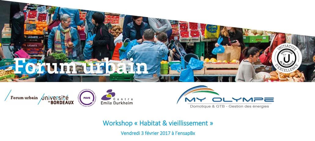 Forum Urbain à l'Ecole d'architecture
