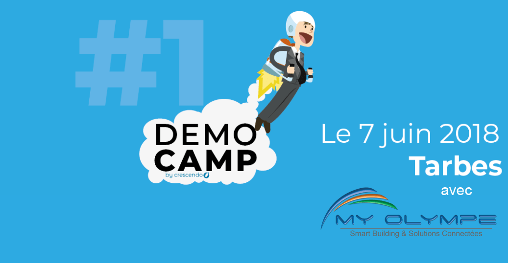 DEMOCAMP : MY OLYMPE à TARBES le 7/06