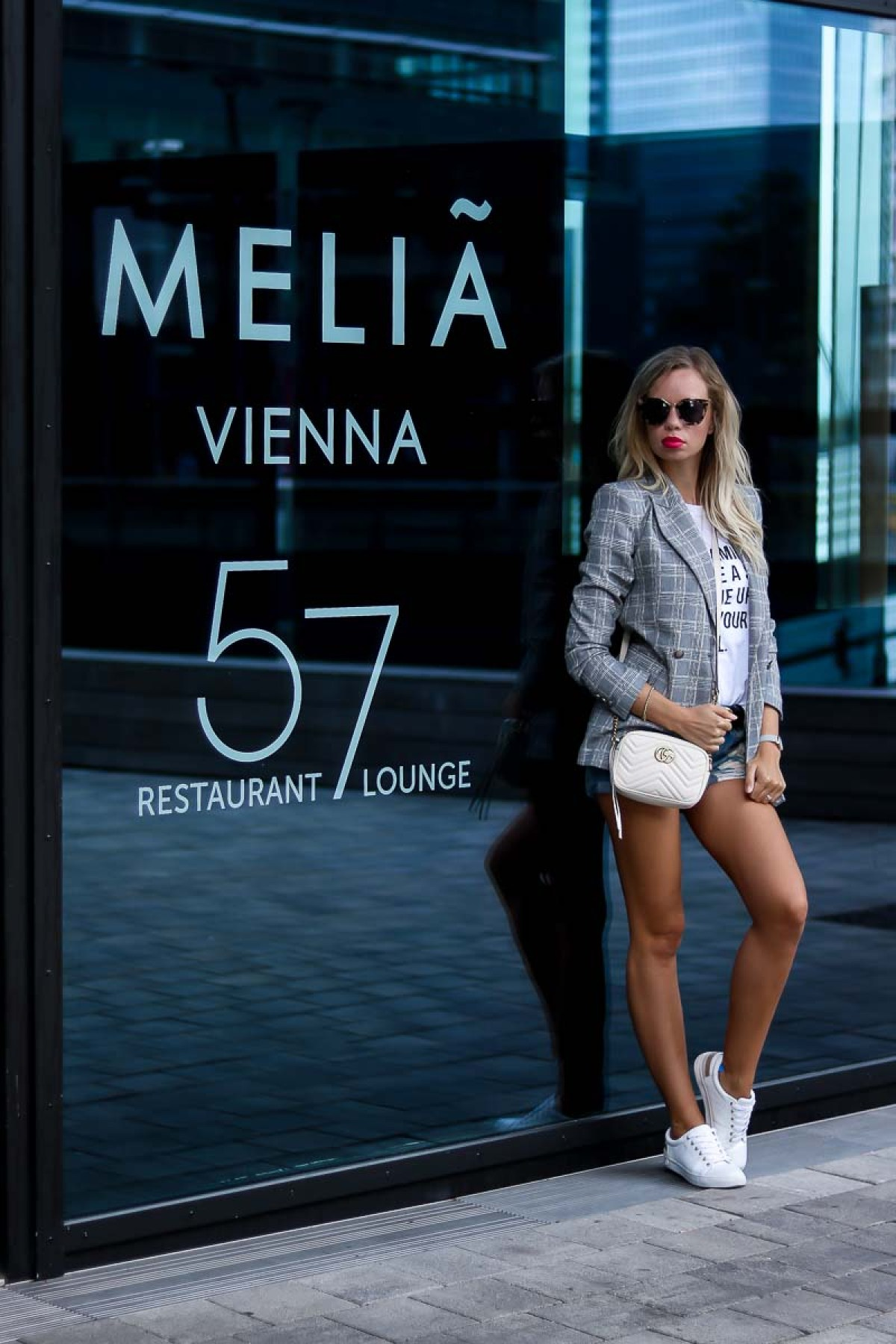 Casual Summer Outfit at Melia Vienna