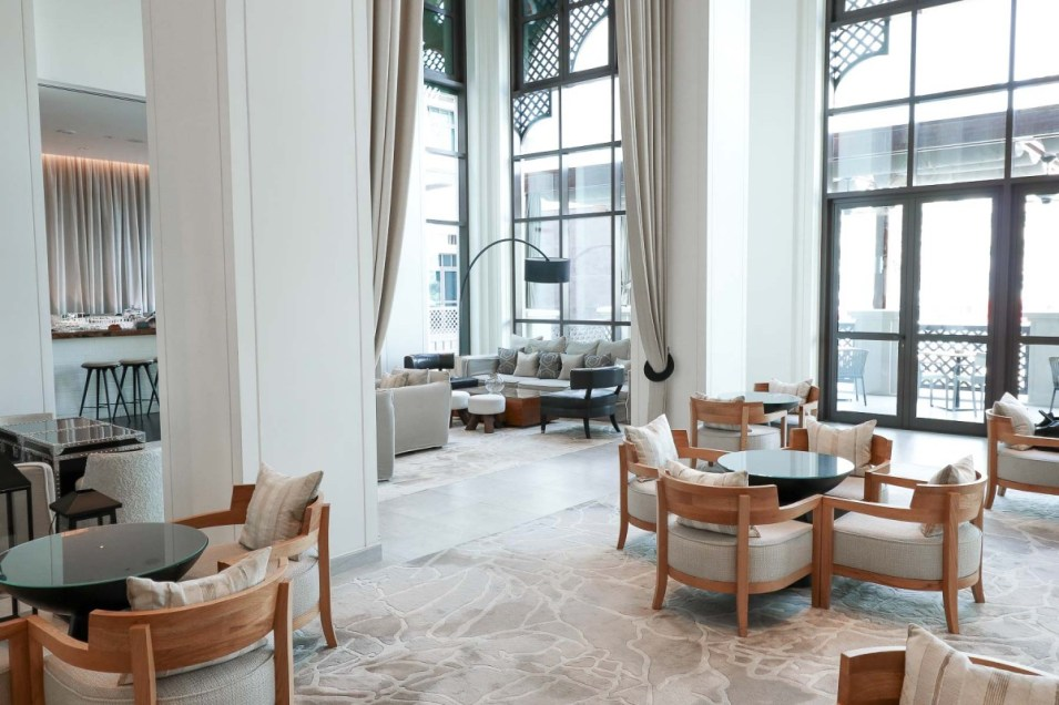 Vida Downtown Dubai lobby
