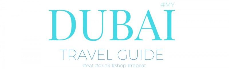 DUBAI Travel guide Überschrift