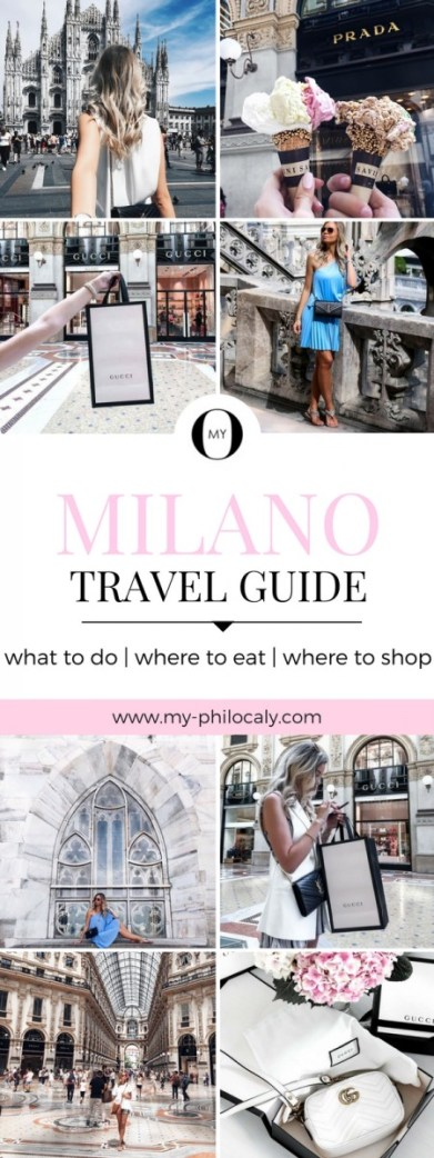 Milano Travel Guide Pin