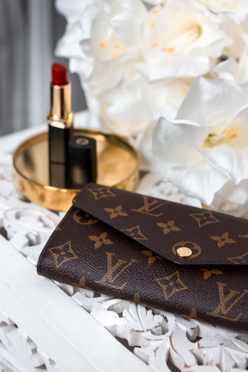 Louis Vuitton Sarah Wallet Geldbörse Designer Wishlist
