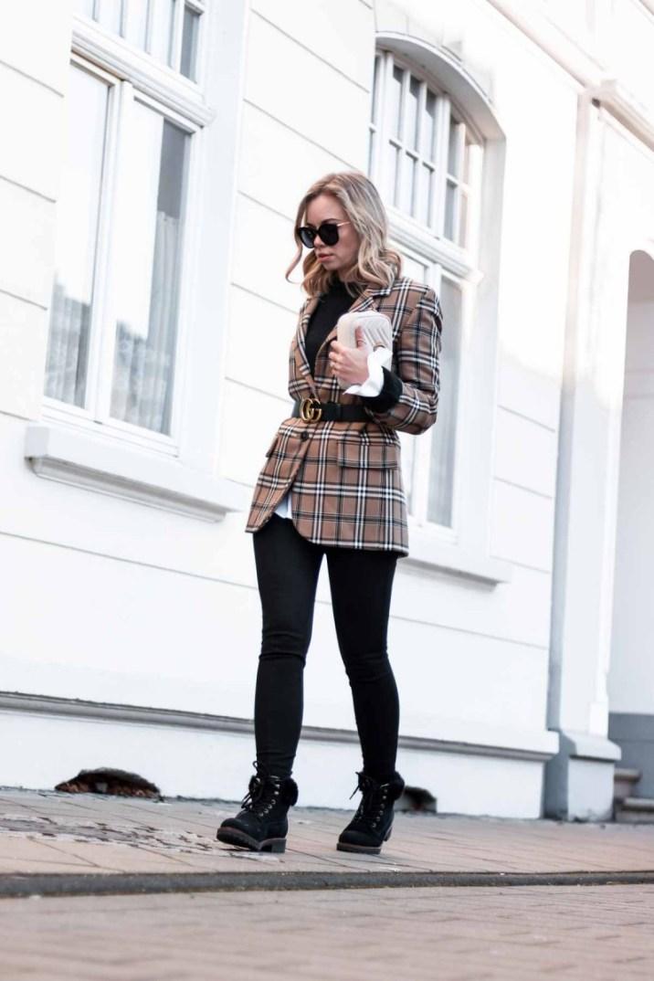 Büro Outfit für kalte Wintertage