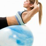 Core Strength Ball Exercise