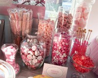 Baby Shower Candy Buffet - My Practical Baby Shower Guide