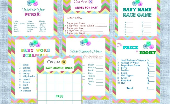 New My Practical Baby Shower Guide