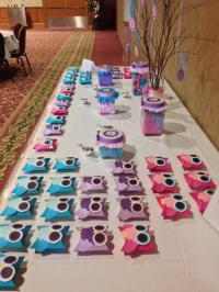 Baby Shower Food Ideas: Baby Girl Shower Ideas Owl Theme