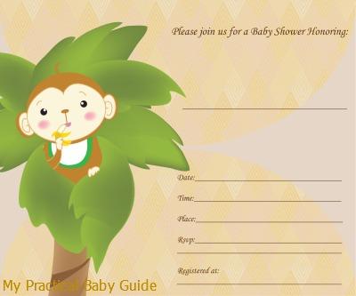 Monkey Baby Shower Theme Ideas My