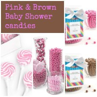 Pink and Brown Baby Shower Ideas - My Practical Baby ...
