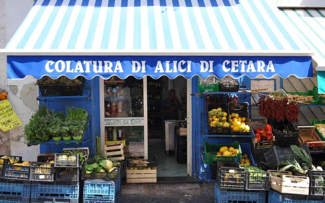 Cetara and the good food