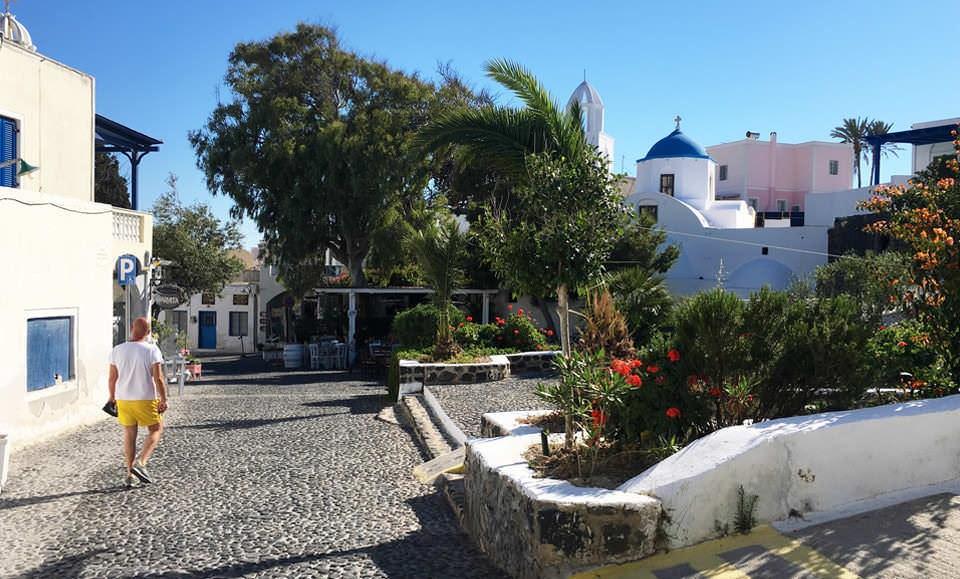 The authentic Santorini