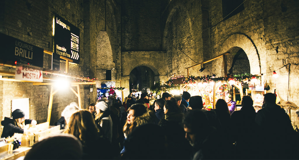 The Rocca Paolina in Perugia and its Underground Christmas Market