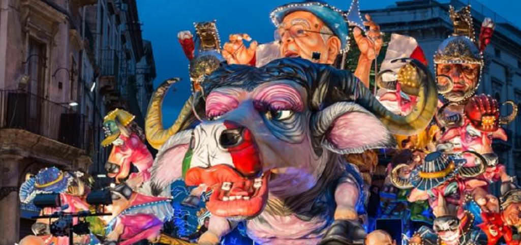 The Carnival of Acireale in Sicily