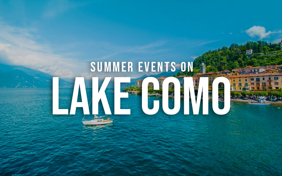 Summer events on Lake Como