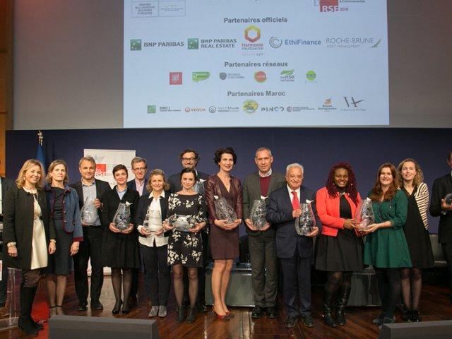 myRSE Network -Lauréats Trophées Défis RSE 2018