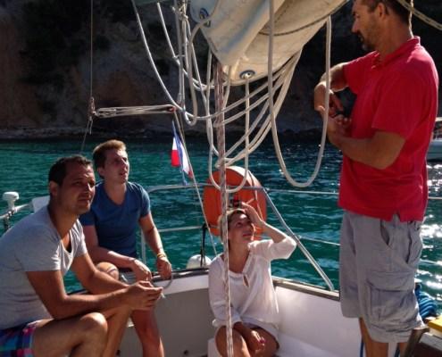 location voilier habitable Var my sail croisiere mediterranee photos video mer sejour vacance decouverte voile initiation port des embiez
