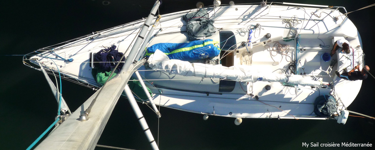 location bateau habitable voilier Jod 35 var cote azur course regate sportive entrainement
