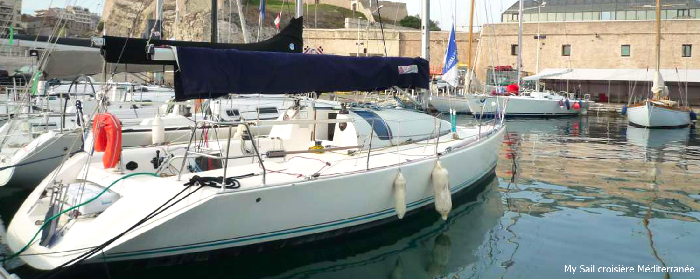 location bateau habitable voilier Jod 35 var