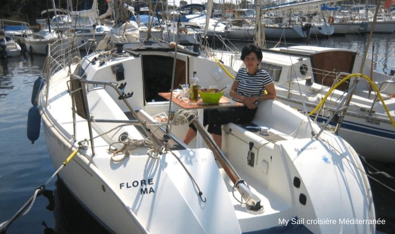 location voilier habitable sun way 29 avec ou sans skipper var six fours les plages cabotage port des embiez