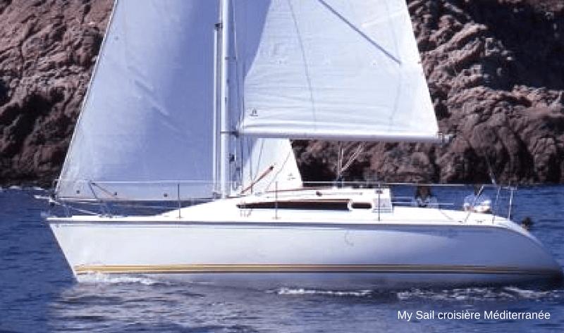 location voilier habitable sun way 29 avec ou sans skipper var six fours les plages vacance croisiere balade en mer