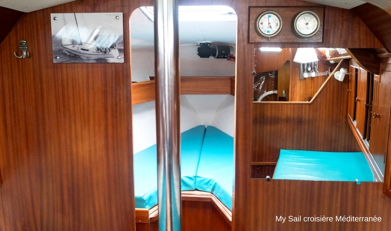 location voilier monocoque dans le var provence mediterranee cote azur