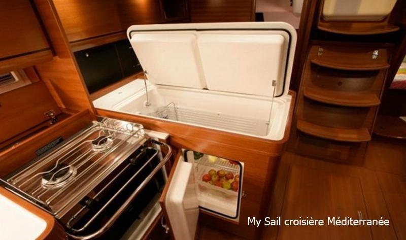 location bateau voilier dufour 405 grand large a marseille port pointe rouge calanques frioul