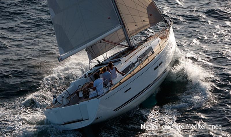 location monocoque voilier dufour 405 grand large a marseille port pointe rouge calanques archipel du frioul