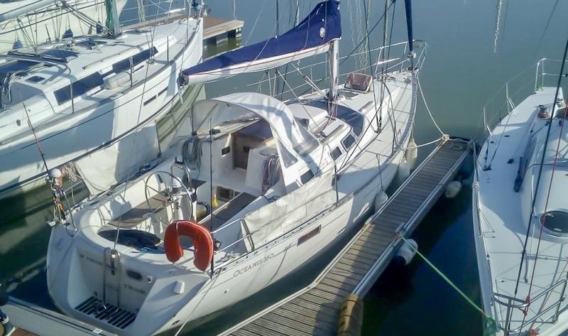 location voilier Oceanis 350 Beneteau