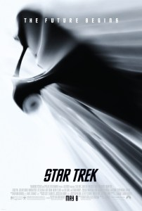 "Poster for the 2009 ""Star Trek"" film."