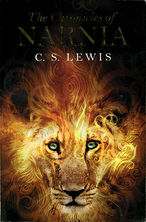 "Cover of the omnibus volume ""The Chronicles of Narnia"" by C.S. Lewis from HarperCollins."