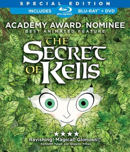"Cover of the Blu-ray release of ""The Secret of Kells""."