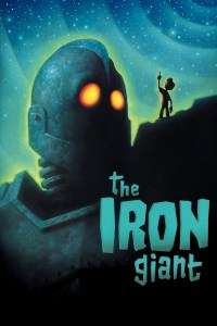 "Cover of the special edition DVD release of ""The Iron Giant""."