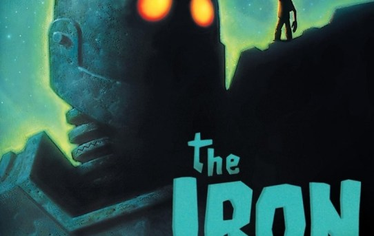 "Cover of the DVD release of ""The Iron Giant""."