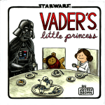 Vader's Little Princess by Jeffrey Brown – picture book review