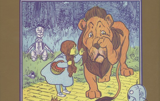 """Cover of the 100th Anniversary Edition of """"The Wonderful Wizard of Oz"""" by L. Frank Baum."""