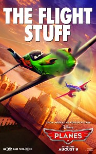 """Theatrical teaser poster for Disney's """"Planes""""."""