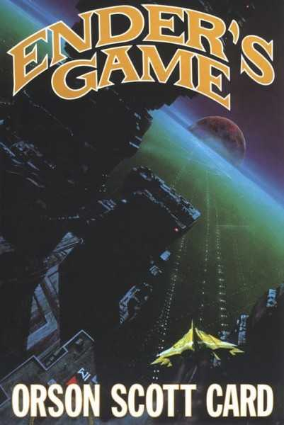 """Cover for """"Ender's Game"""" by Orson Scott Card."""