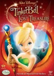 "DVD cover of ""Tinker Bell and the Lost Treasure""."