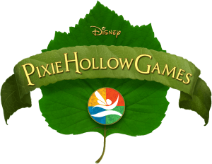 """Logo from the Disney television special, """"Pixie Hollow Games""""."""