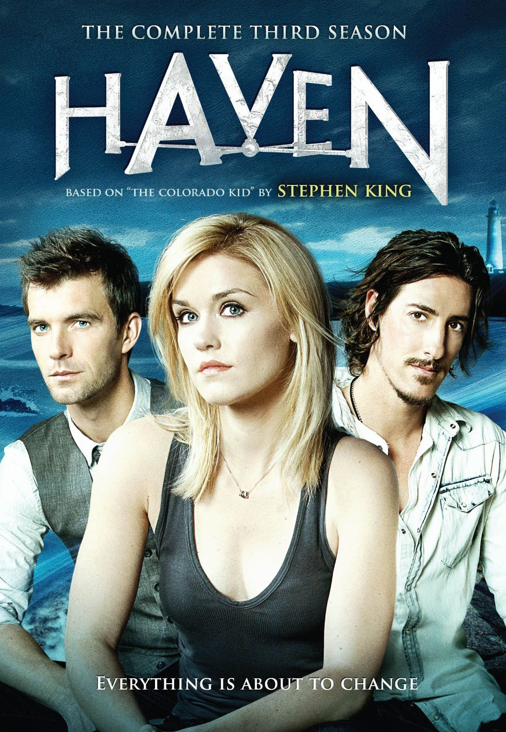 "Cover of Season Three collection for ""Haven""."